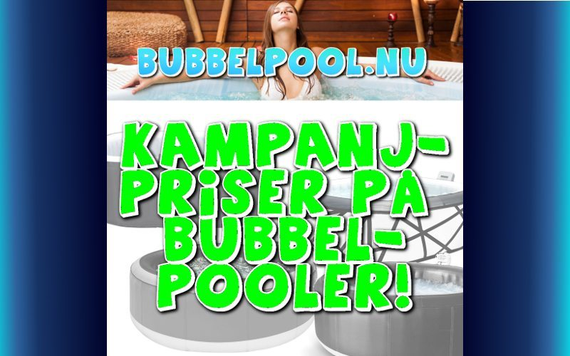 kampanjpris bubbelpool